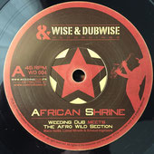 "WEEDING DUB African Shrine (7"") Wise & Dubwise"