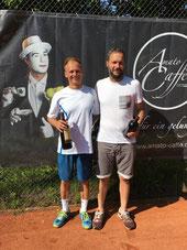 Sieger Jakunin und Finalist Heinkel
