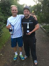 Finalist Jakunin und Sieger Seeger