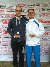 Sieger Fahlke und Finalist Jakunin