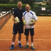 Finalist Ilgner und Sieger Jakunin