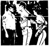 Dallas Green and Larry Bowa argue with umpire Steve Fields.