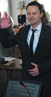 Ein halbes Jahr nach seiner Verpflichtung sitzt der einstige Spitzenkandidat Udo Rüttgers nicht mehr für die Piraten, sondern für die Christdemokraten im Stolberger Stadtrat und im Städteregionstag.Foto: J. Lange