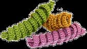 cuadro puntos crochet