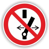 Schaltverbotsschild - Nicht schalten - Gegen Wiedereinschalten sichern - ASR A1.3 - Schaltberechtigung