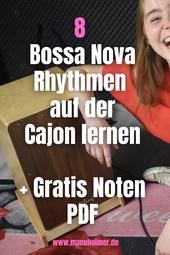 Cajon Bossa Nova Beats