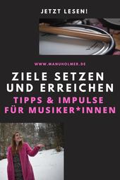 Zielsetzung für Musiker und Musikerinnen