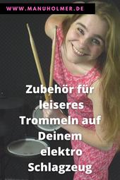 Leiser trommeln elektro Schlagzeug