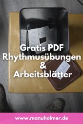 Rhythmusübungen PDF und Arbeitsblätter
