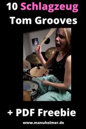 Tom Grooves am Schlagzeug lernen
