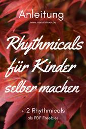 Rhythmicals für Kinder selber machen Anleitung PDF