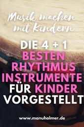 Rhythmusinstrumente für Kinder