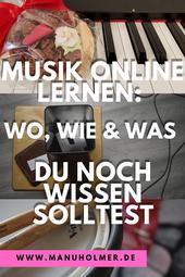 Online Musik lernen