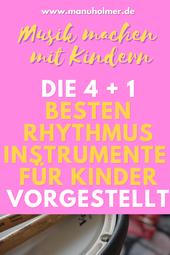 Rhythmusinstrumente für Kinder Ratgeber