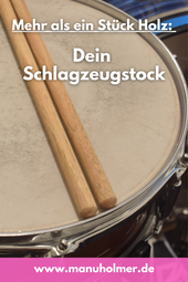Holz Schlagzeug Sticks