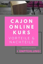 Cajon Online Kurs Empfehlung