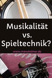 Technik oder Musikalität - ein Gegensatz?