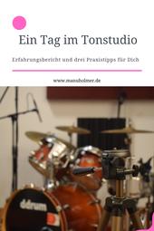 Ein Tag im Tonstudio Erfahrungsbericht