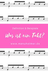 Was ist ein Takt in der Musik? Definition und Beispiele