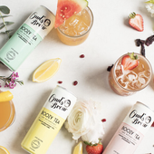 Sparkling Tea is Poised to be the Canned Drink of Summer–Here's What RDs Have to Say