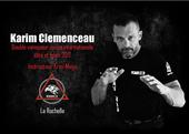 diplômes de Karim Clémenceau en krav maga