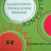 Römerturm Elegance Karten für besondere Anlässe