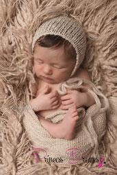 Neugeborenen Newborn Neugeborene Baby Bonnet Haube Mädchen Jungen Baby Strick Mütze Mohair Mütze Hat boys Girls Bärenmütze Zipfelmütze Mützchen Outfit Set erst Fotoshooting Fotografie Neugeborenenfotografie Babyfotografie Photo-Props Neugeborenen Set