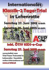 Plakat A-Cup Lehenrotte 2015