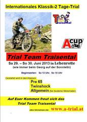 Plakat A-Cup Lehenrotte 2013