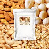 4種 ミックスナッツ 1kg NEW(くるみ35% アーモンド35% カシューナッツ20% マカダミア 大粒(ホール)10%) 無塩 香料・保存料不使用