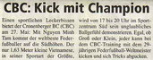 Cronenberger Woche Vorbericht vom 13.05.2005