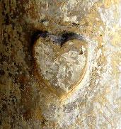 """Le """"coeur"""" des fonts baptismaux"""