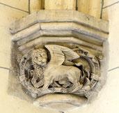 Le lion ailé de Saint-Marc à Proyart