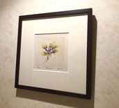 Blueberry-1  12x12cm  (f.30x30cm)  ¥32,000
