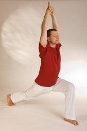Yoga Vidya Halbmond Asana
