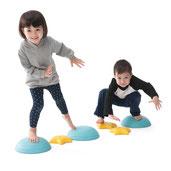 Pierres scintillantes d'équilibre pour jeux de coordination et équilibre enfants à acheter pas cher. Les pierres scintillantes pour l'équilibre des enfants.