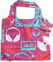 Chilino Bag Musik Kassette Kopfhörer CD Lautsprecher, rot