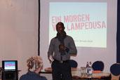 """Hamado Dipama """"Ein Morgen vor Lampedusa"""" am 22.02.2018"""