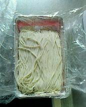 冷蔵便で届いた新蕎麦です。
