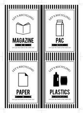 分別シールデザイン 分別シール ゴミ箱シーツ ゴミシール 分別ゴミ箱 分別ラベル ゴミラベル