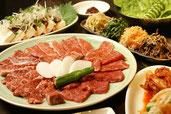 「和牛焼肉 えん」の豊富なメニューの宴会コース