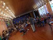 Gemeinschaftsprobe (50Aktive) am 17.8.2013