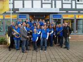 Übergabe der gespendeten Trompete von Thomas Sterner am 21.09.2013