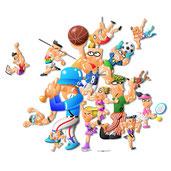 あらゆろスポーツの集合体