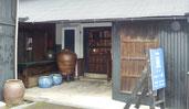 多治見本町オリベストリートの骨董店「古美術 亘」Tajimi Honmachi Oribe Street