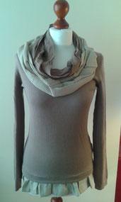 Pullover, Oberteil, Unikat, redesigned, handgemacht, individuell