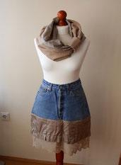 Kilt, Jeansrock, Unterbkleidung
