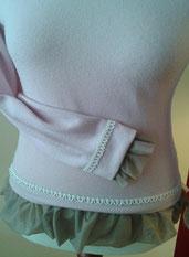 Pullover, Oberteil, redesigned, handgemacht, Unikat