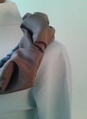 Pullover, Oberteil, redesigned, handgemacht, individuell, Unikat