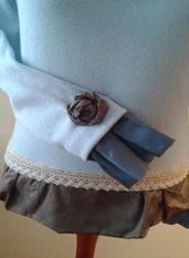 Pullover, Unikat, Oberteil, redesigned, handgemacht